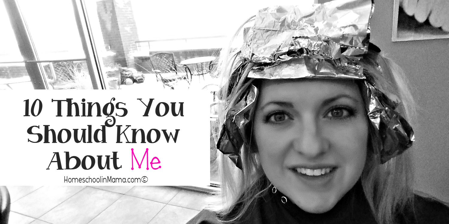 10 Things You Should Know About ME!