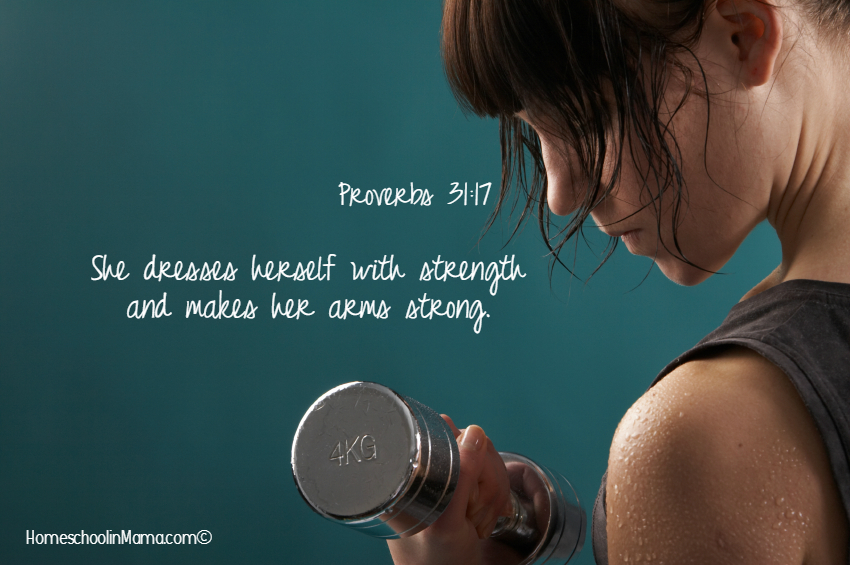 Raising Proverbs 31 Women - A Strong Woman