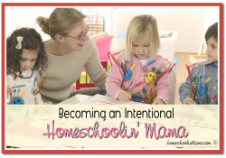 Becoming an Intentional Homeschoolin' Mama – Play Time