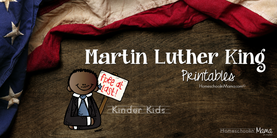 Kinder Kids - Martin Luther King Learning Pack