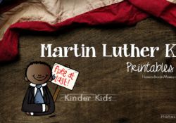 Martin Luther King Day Printables