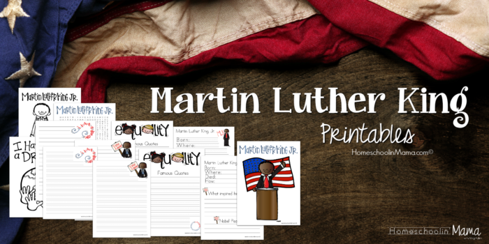 Kinder Kids - Martin Luther King Learning Pack Pages