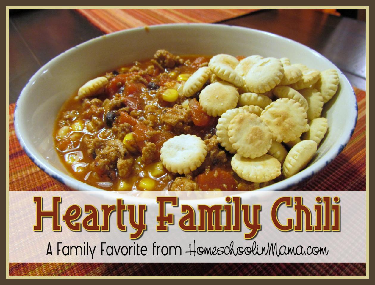 Family Chili Recipe