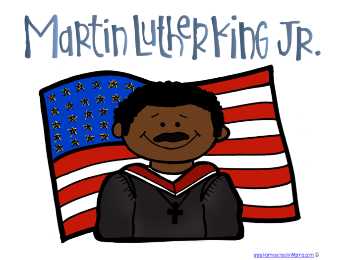 Tater Tot - Martin Luther King Learning Pack from www.HomeschoolinMama.com