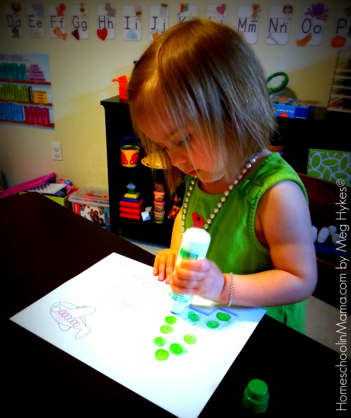 Tater Tot Learning Packs from www.HomeschoolinMama.com by Meg Hykes