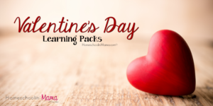 Valentine's Day Learning Packs