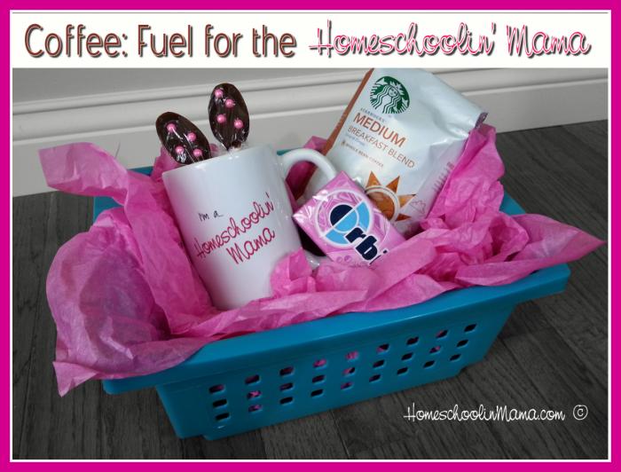 Coffee: Fuel for the Homeschooling Mom Basket Giveaway
