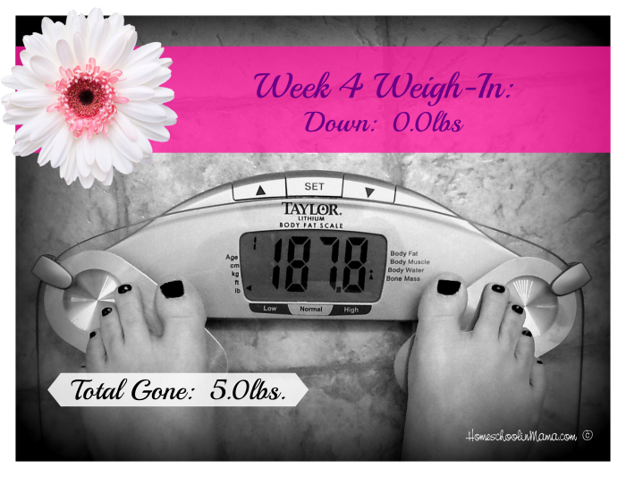 One Roll at a Time - Week 4 Weigh-In with Shaklee 180™ Turnaround Kit
