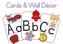 {New} Printable – ABC Cards & Wall Decor