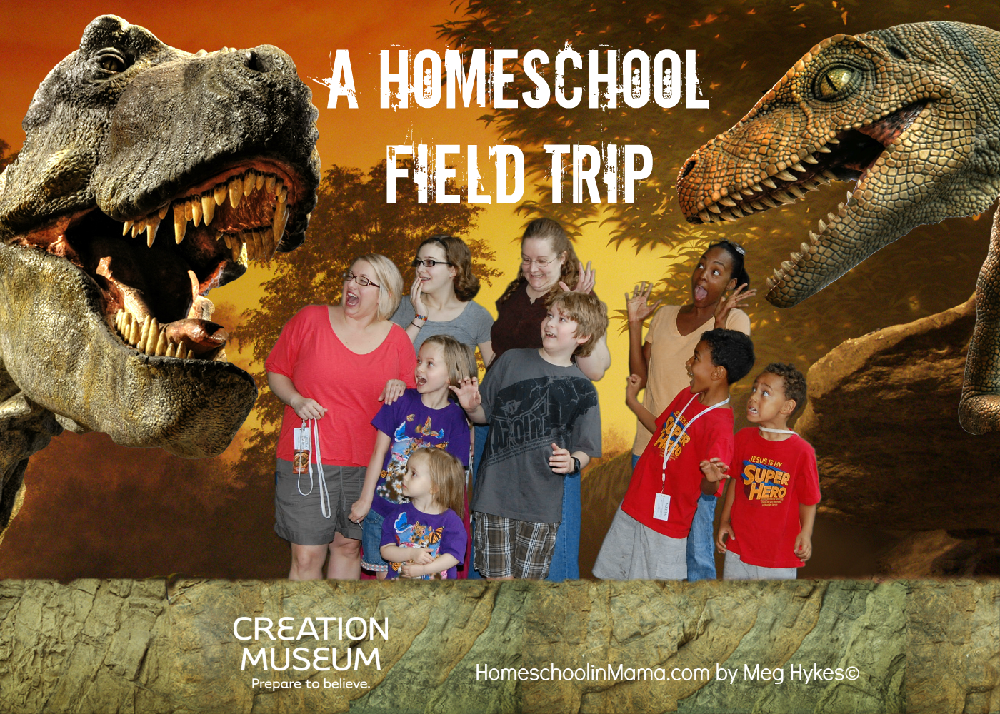 Our Homeschool Field Trip The Creation Museum