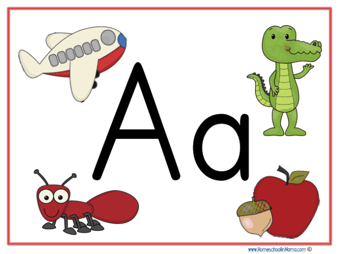 Tater Tot Letter Aa Learning Pack from www.HomeschoolinMama.com by Meg Hykes