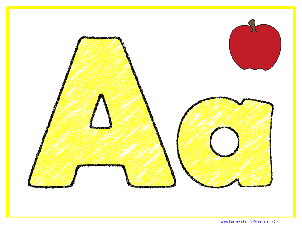 PreK Kids - Fun Letter Aa  learning packs for your littles!