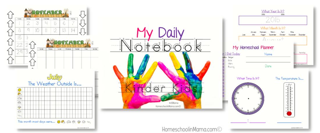 Kinder Kids - My Daily Notebook