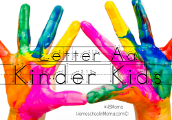 Kinder Kids – Letter Aa Bundle