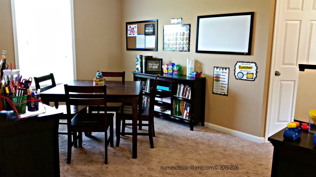 Our Homeschool Room 2015-2016