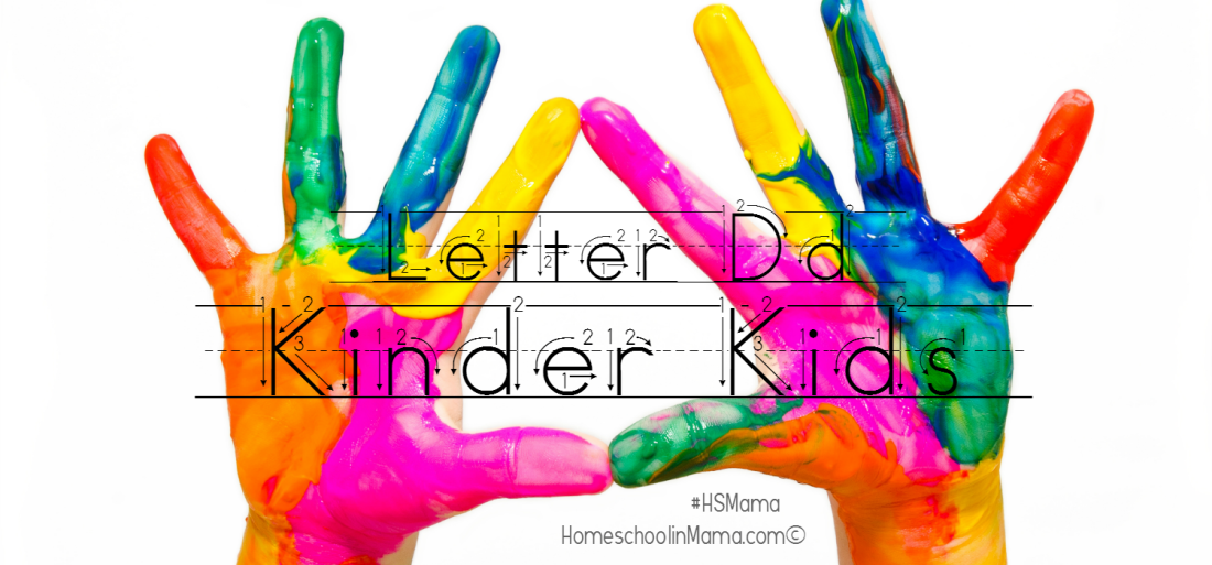 Kinder Kids - Letter Dd Bundle