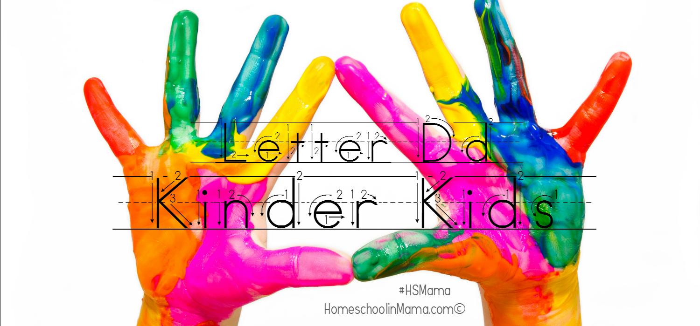 Kinder Kids – Letter Dd Bundle