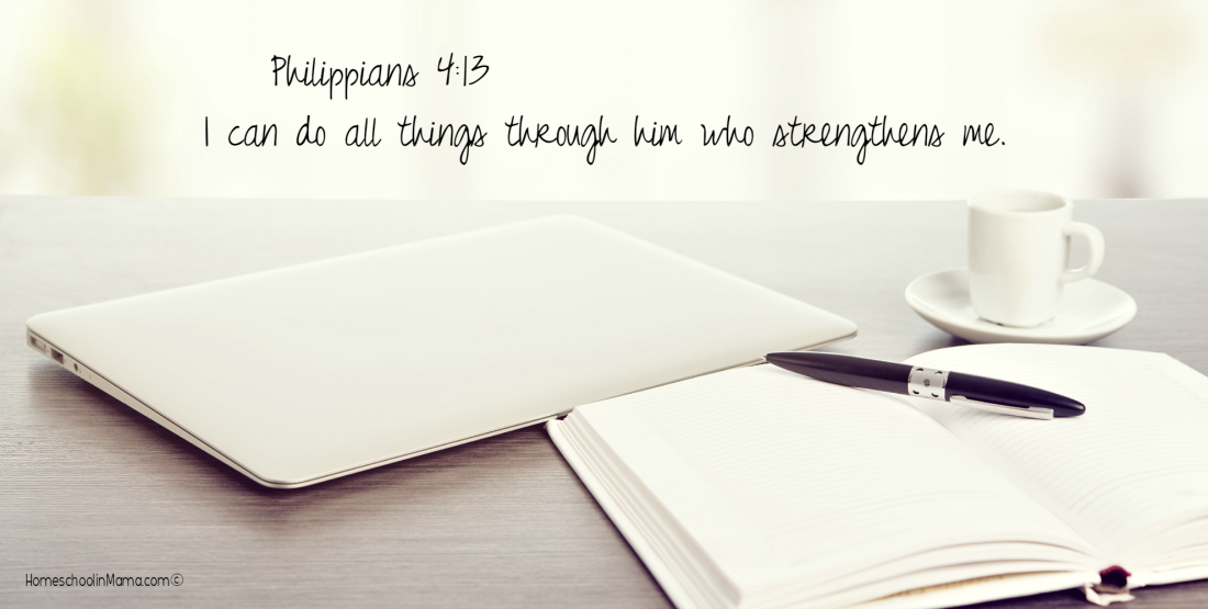Mama Sets The Tone - Philippians 4:13