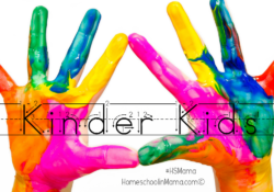 Kinder Kids Printables Page Is Here