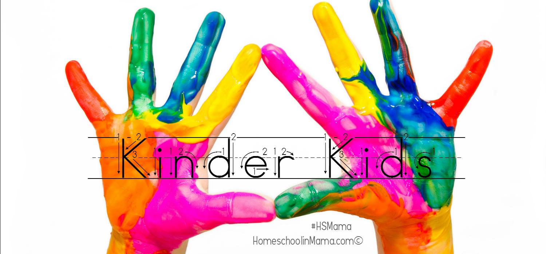 Kinder Kids Printables Page Is Here