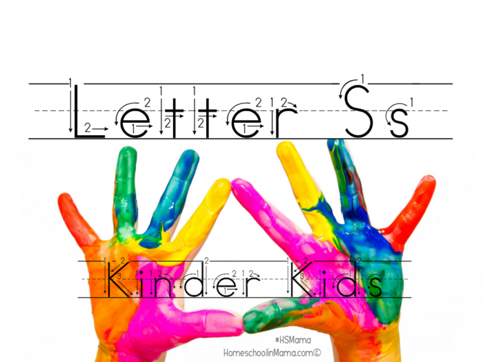 Kinder Kids - Fun printables for the Kindergartner in your life! #HSMama #KinderKids #kindergarten #printables #homeschool