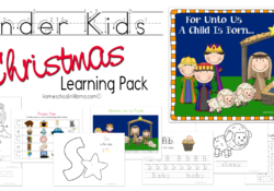Kinder Kids – Christmas Learning Pack