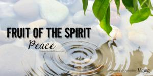 Fruit of the Spirit: Peace